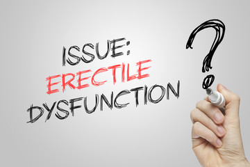 Hand writing issue erectile dysfunction