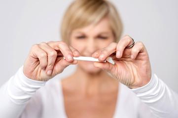 Smoking is injurious to health.