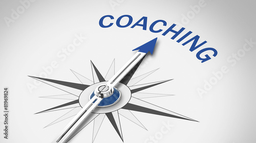 Leinwanddruck Bild Coaching