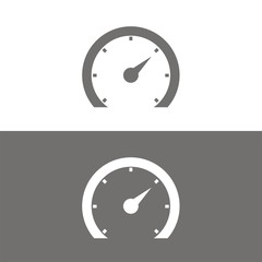 Icono velocímetro 2 BN
