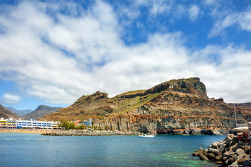 Coast of Puerto de Mogan. Gran Canaria. Canary Islands
