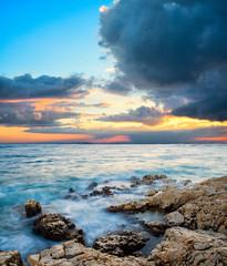sea sundown
