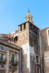 Church of Benedictine Monastery in Catania, Sicily