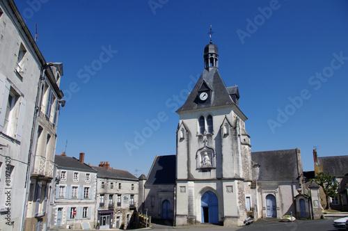 Papiers peints Europe du Nord Place de l'église