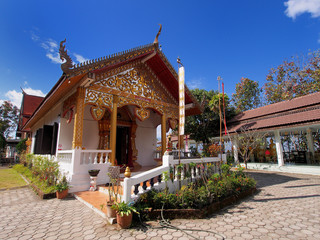 China town in Pai, Thailand