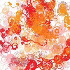 riccioli rosso arancione