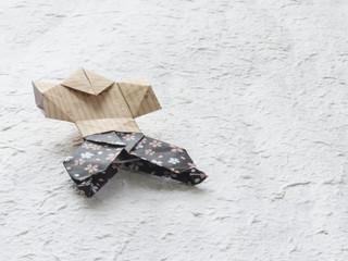 折り紙 やっこさん