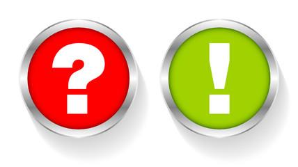 Sticker Question & Answer Silver
