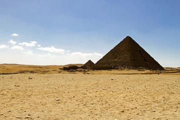 Pharaoh Menkaure pyramid