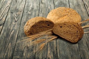 Bread. Whole Wheat Bread Slices