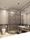 Fototapety Bathroom modern style