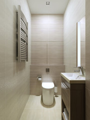 WC modern style