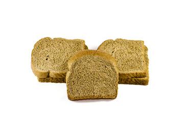 Frisch Gebackene Toast Brot Scheiben