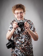 Granny photographer