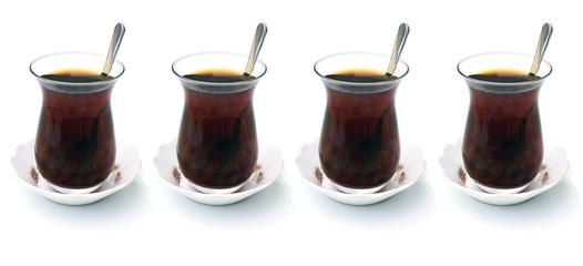 4 Mal türkische Schwarztee