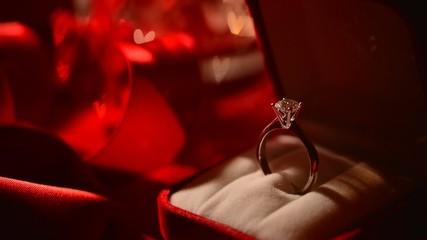 Diamond ring. Valentine's Day Gift