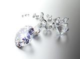 Set of many different gemstones - 81983636