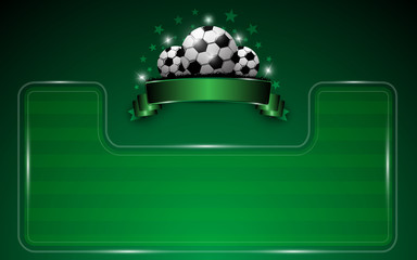 football template background