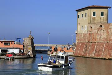 Toscana,Livorno,Fortezza Vecchia.