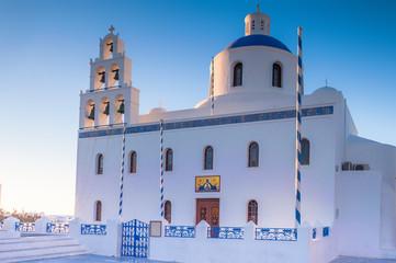 Church on Santorini
