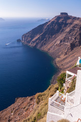 View on Caldera, Santorini, Greece
