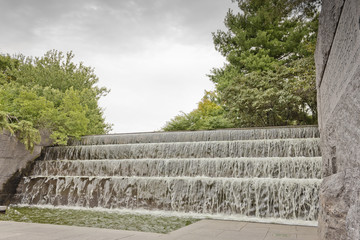 Waterfall, Franklin D. Roosevelt Memorial, Washington DC