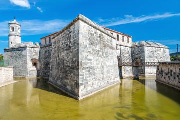 Spanish castle in Old Havana