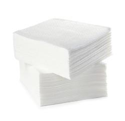 Napkins isolated on white background