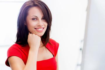 Modern successful business woman