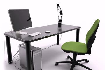 Illustration Desk 3d