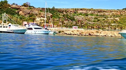 EUROPE - APRIL-17, 2015. Seashore of the Gozo Island