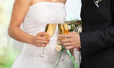 Wedding. Wedding Champagne Toast