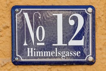 Himmelsgasse 12