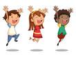 Children jumping - 81991608
