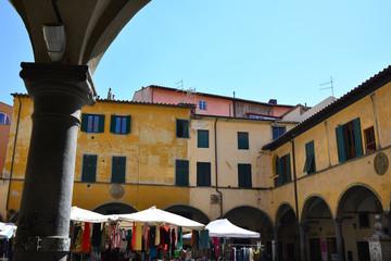 Palazzi mercato, centro storico, Pisa