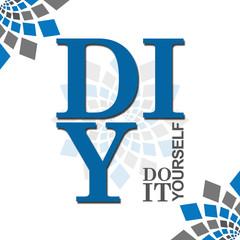 DIY - Do It Yourself Blue Grey Element