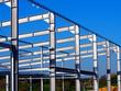 Leinwanddruck Bild - Stahlbau