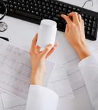 doctor prescribing medication