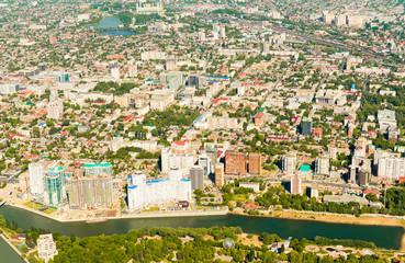View of the city of Krasnodar