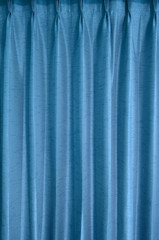 Blue curtain texture background