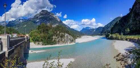 Summer Italian Dolomites.