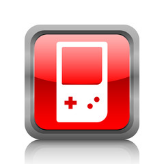 White Gaming Device icon