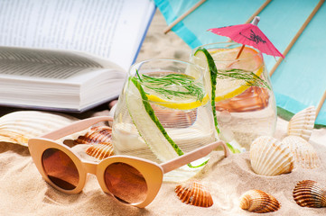 weekend break on the beach