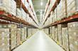 Leinwanddruck Bild - moderm warehouse