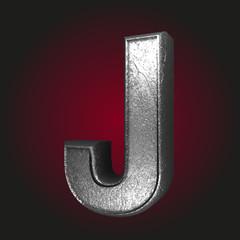 j metal letter