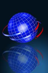 Erde Netzwerk
