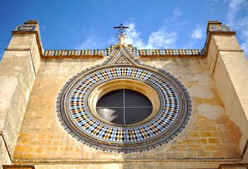 Monasterio de la Cartuja, portada, Sevilla, España