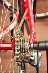 Of bicycle parts