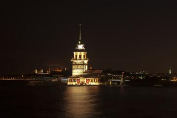 The Maiden's Tower (Turkish: Kiz Kulesi), Istanbul