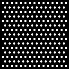 white dots on black background vector